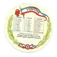 ETIQUETTE De FROMAGE..CAMEMBERT 1791..Calendrier VENTOSE - Cheese