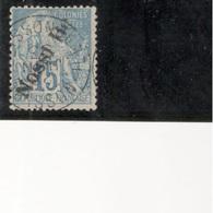 NOSSI-BE1891:Yvert 24used  Cat.Value 26Euros - Oblitérés