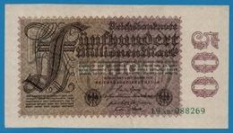 DEUTSCHES REICH 500 Millionen Mark01.09.1923# 19AB.088269 P# 110b - [ 3] 1918-1933: Weimarrepubliek