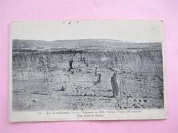 Lac De CHALAIN_Travaux De 1904_une Allée De Pilotis_ - France