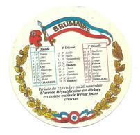 ETIQUETTE De FROMAGE..CAMEMBERT 1791..Calendrier BRUMAIRE - Cheese