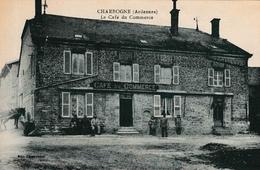 08 CHARBOGNE Le Café Du Commerce TOP Rare! Édit Charpentier - Other Municipalities