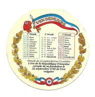 ETIQUETTE De FROMAGE..CAMEMBERT 1791..Calendrier VENDEMIAIRE - Cheese