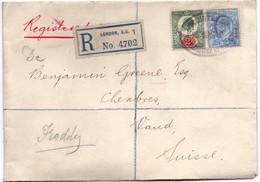 London EC 1 1912 - Registered - 1902-1951 (Re)