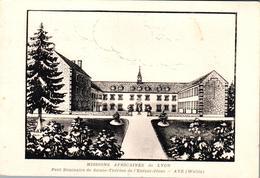 Carte Vers 1930 Missions Africaines De Lyon , Ave (Wellin) : Petit Séminaire Ste Thérèse De L'enfant Jésus - Other