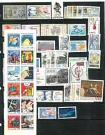 Année Complète 1989 - 53 Timbres Neufs Sans Charnières Ni Traces - Yvert N°  2560 à 2614 - France