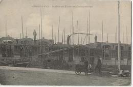 LONGUEVAL  -  Mairie Et Ecole En Construction - Autres Communes