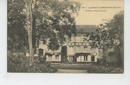 QUESNOY LE MONTANT - Château D' HYMMEVILLE - France