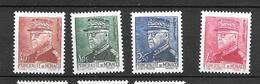 1941 - Monaco -prince Louis II - YT 225 226 229 232 - MNH** - Neufs