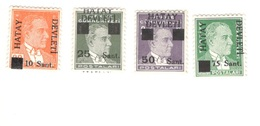 TURKEY-HATAY....1939:Michel 1-4mnh** - Altri