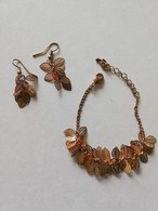 Ensemble Bracelet + Boucles D'oreilles (dans Sa Boîte D'origine) - Jewels & Clocks