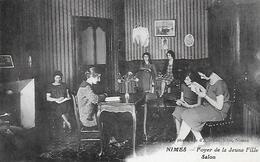 30)   NIMES  - Foyer De Jeune Fille - Salon - Nîmes