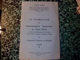 """Vieux Papier  De Belgique  (colonia)l """"manuel La Formation Des Administrateurs Territoriaux Du Congo Belge  """" Année ? - Vieux Papiers"""