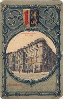 Cpa MANNHEIM - Restaurant Kaiserring Emil Krebs En Médaillon, Armoiries. - Mannheim
