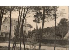 """La Baule (Loire Atlantique), Rare  : Villa """"Les Edelweiss""""  Route Du Pouliguen (voie Goudronnée) Photo Labière - La Baule-Escoublac"""