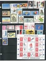 Année Complète 1992 - 48 Timbres Neufs Sans Charnières Ni Traces - Yvert N°  2736 à 2784 - 1990-1999