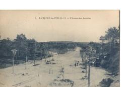 La Baule (Loire Atlantique), Rare : L'Avenue Des Accacias - Lors De Sa Construction, Belle Animation, Chantier - La Baule-Escoublac