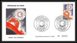 4316/ Espace Space Raumfahrt Lettre Cover Briefe Cosmos 12/5/1964 FDC Année Internationale Du Soleil Calme Niger - Lettres & Documents