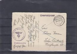 Deutsches Reich Michel Kat.Nr. GG Dienstpost AK Krakau (1) - Occupation 1938-45