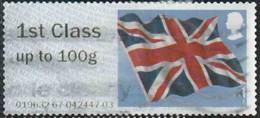 GB 2012 Post&Go Yv. N°39 - 1st 100g Drapeau Britannique - Oblitéré - Post & Go Stamps