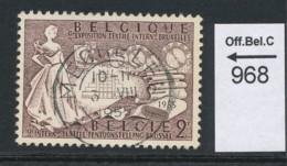 PRACHTSTEMPEL  Op Nr 968 'Mechelen' - Belgique
