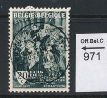 PRACHTSTEMPEL  Op Nr 971 'BXL' - Belgique