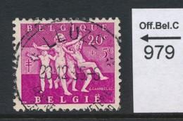 PRACHTSTEMPEL  Op Nr 979 'Leuze' - Belgique