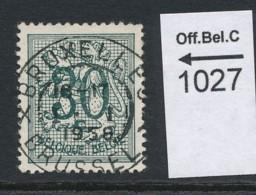 PRACHTSTEMPEL  Op Nr 1027 'BXL' - Belgique