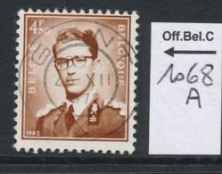 PRACHTSTEMPEL  Op Nr 1068A 'Gent' - Belgique