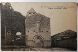 SAINT-SIMON - L'Eglise Romane - CPA - CP - Carte Postale - France