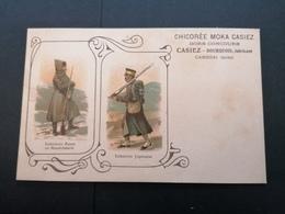 Chicorée Moka Casiez. Illustration. Infanterie. Cambrai. - Advertising