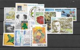 1994 MNH Wallis Et Futuna Year Complete Postfris** - Wallis Y Futuna