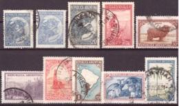 Argentine 1936 - Oblitéré - Agriculture Et élevage - Michel Nr. 419-425 427-429 (arg063) - Argentina