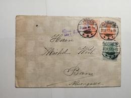 Deutsches Reich  Briefumschlag 1917 - Allemagne