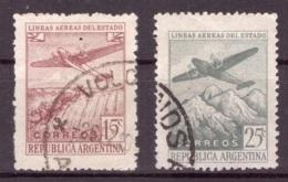 Argentine 1946 - Oblitéré - Avions - Michel Nr. 528-529 Série Complète (arg080) - Argentina