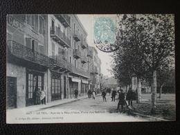 LE TEIL -Rue De La République ,Place Des Sablons - Le Teil