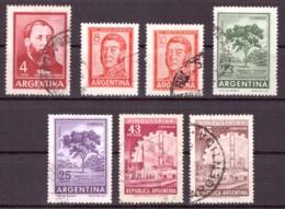 Argentine 1965-1966 - Oblitéré - Célébrités - Mammifères - Michel Nr. 866-872 (arg113) - Argentina