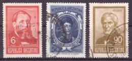 Argentine 1967 - Oblitéré - Célébrités - Michel Nr. 965-971 Série Complète (arg116) - Argentina