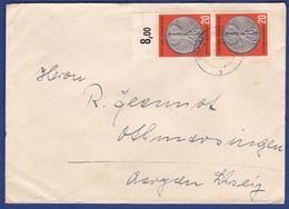 Mehrfachfrankatur MiNr. 291, Bogenrand (aa0440) - Covers & Documents
