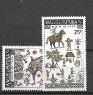 1995 MNH Wallis Et Futuna Michel 688-89 Postfris** - Wallis And Futuna