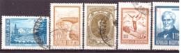 Argentine 1971-1972 - Oblitéré - Paysages - Célébrités - Michel Nr. 1096II 1097Ix 1098II 1099x 1100I (arg126) - Argentina