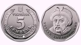 Ukraine, Bogdan Khmelnitsky 2019, 5 Gr Grivny, 1 Coin - Ukraine