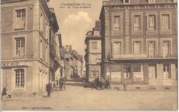 CPA Cormeilles Rue De Pont-Audemer - Frankreich