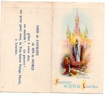 1957 Lourdes  Zakkalender Kalender Calendrier De Poche Pocket Calendar Tasschenkalendar Religie Religion - Calendars