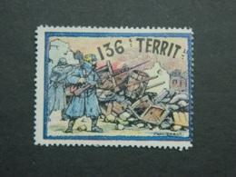Vignette Delandre 136ème Régiment Territorial - Militario