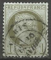 France - Cérès - N°50 Oblitéré - Cachet à Date PARIS - 1871-1875 Cérès