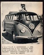 1959  --  CAMIONETTE COMBI WOLKSWAGEN A GORONGOZA . 3T064 - Sin Clasificación