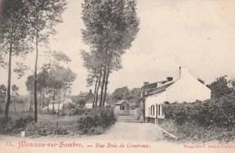 Monceau-sur-Sambre.  -Rue Bois De Goutroux.  Scan - Belgique
