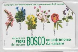 ITALY 2002 BOSCO FIORI FLOWERS - Flores