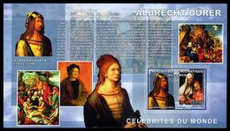 Durer Painting. Congo DR 2006. Imperforated. MNH** - Arts